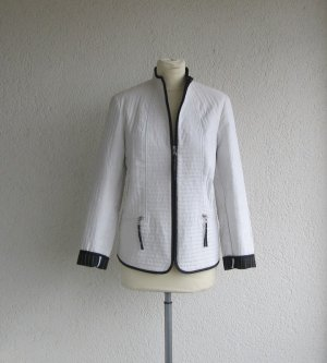 Alba Moda Short Blazer black-white mixture fibre