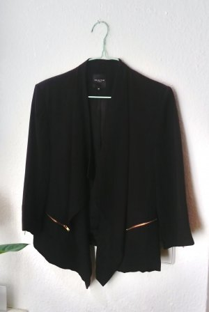 Blazer Jacket Draped Selected Femme Schwarz XS 34 36