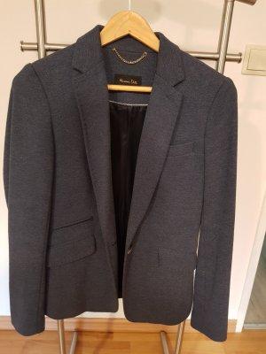 Blazer / Jacket von Massimo Dutti Grau-Blau
