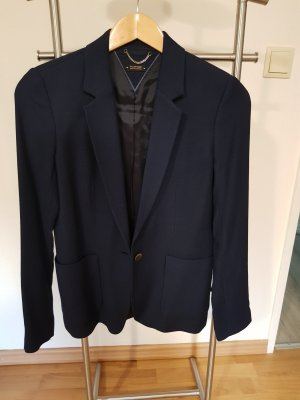 Blazer / Jacket von Massimo Dutti Marine Blau