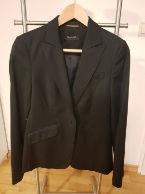 Massimo Dutti Zakelijk pak zwart