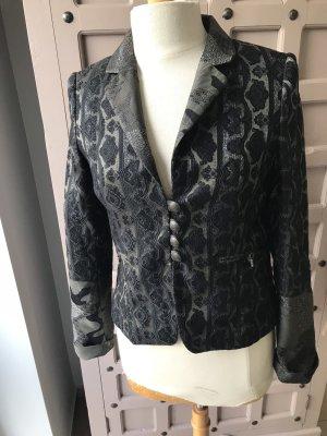 Blazer Jacket Von & Zu Gr 36 Glitzer Jacket