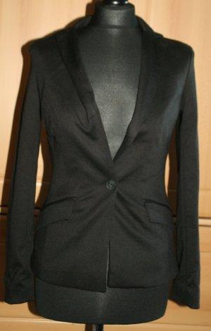 Blazer Jersey von Amisu schwarz Gr. 34 / XS Neu
