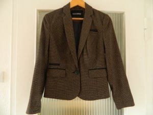 Blazer Kariert Retro Primark Atmosphere Patches Tweedblazer