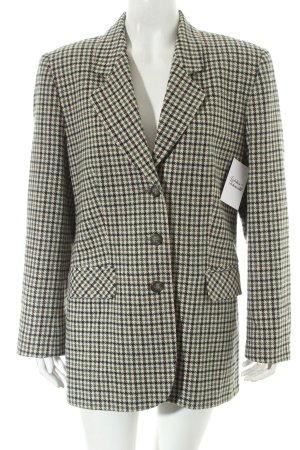Blazer check pattern casual look