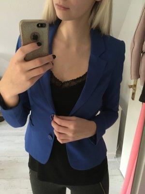 H&M Jersey Blazer blue