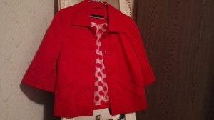 Blazer/ Kurze Jacke in rot