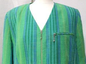 Long Blazer multicolored linen