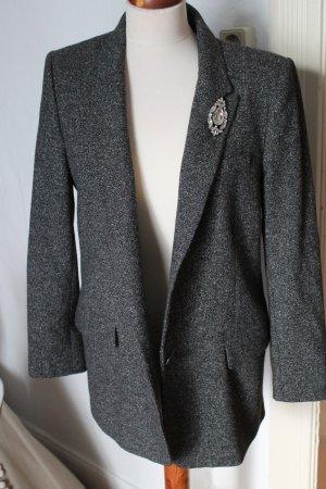 Blazer Long Mantel ZARA Gr. L Grau blogger