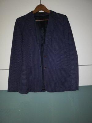 Louis London Blazer largo gris claro-azul oscuro
