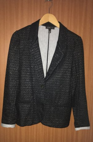 Mango Suit Tuxedo Blazer black-light grey mixture fibre