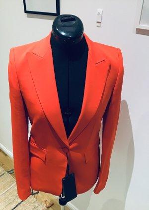 Massimo Dutti Blazer de esmoquin rojo