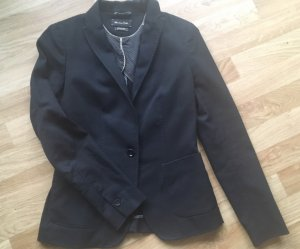Blazer Massimo Dutti, office style, slim fit cut