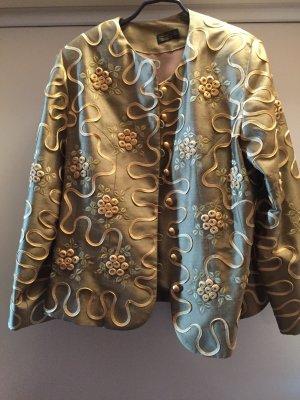 100% Fashion Blazer goud