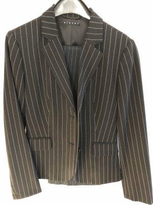 Sisley Long Blazer black-white