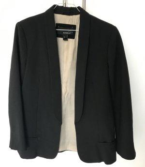 Mango Suit Smokingblazer zwart Polyester
