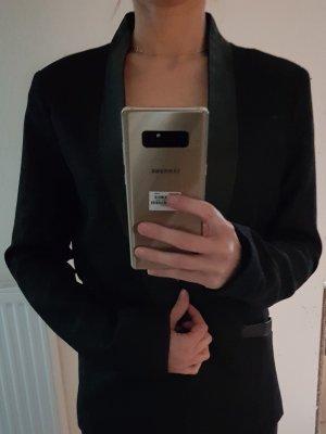 Blazer mit Schalkragen aus Lederimitat von Kiomi