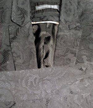 Blazer mit Stickerei-Muster