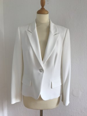Anne Fontaine Smokingblazer wit Polyester