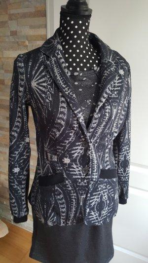 NÜ Denmark Blazer black-silver-colored cotton