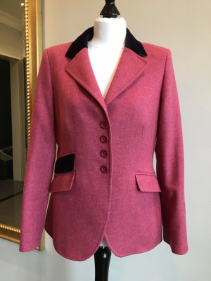Bauer Wool Blazer pink-dark violet