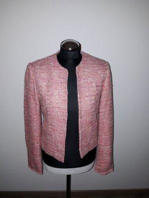 blazer pink comma gr. 36 boucle