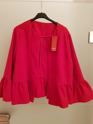 Blazer pink von s.Oliver mit Etikett