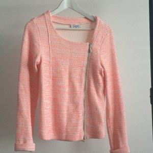 Blazer pink/weiß Größe 36