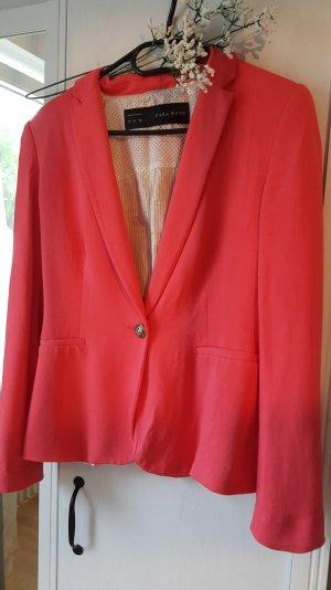 Zara Blazer rouge framboise
