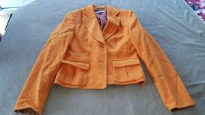 René Lezard Blazer en laine orange