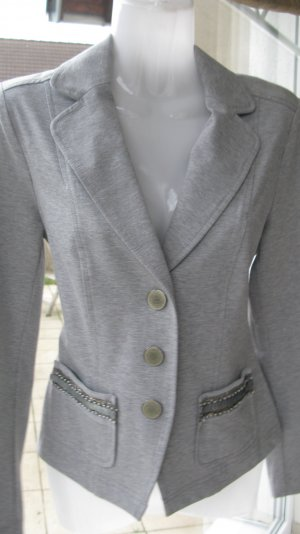 Blazer RIANI, Größe 34, helles grau, softer Griff, angenehme zu tragen