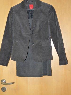 Esprit Blazer court gris-gris foncé coton