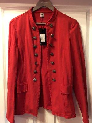 17&co Jersey Blazer red