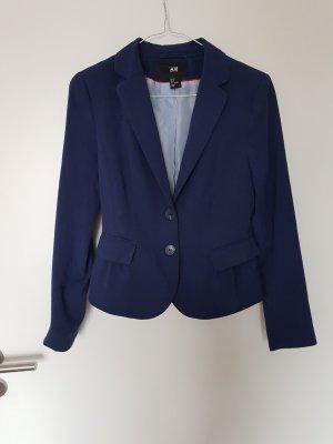 H&M Blazer stile Boyfriend blu