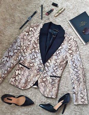 Zara Basic Blazer largo multicolor