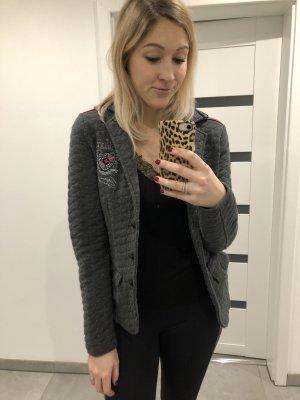 Soccx Blazer gris-rosa