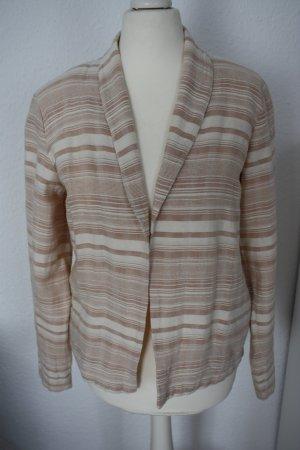 Blazer Sommerblazer Jacke rosa weiß gestreift Streifen VILA Gr. S