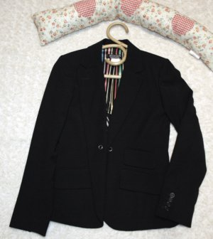 Sonia Rykiel Tuxedo Blazer black