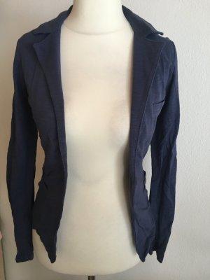 Blazer Stoffblazer Jersey dunkelblau Gr. 34