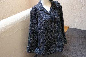 Blazer in tweed nero-bianco Acrilico