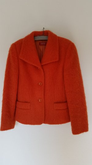 elements by TAIFUN Collection Blazer en laine orange foncé laine vierge