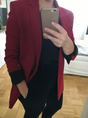 The Kooples Boyfriend Blazer dark red