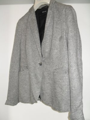 Turnover Blazer sweat gris anthracite-blanc viscose
