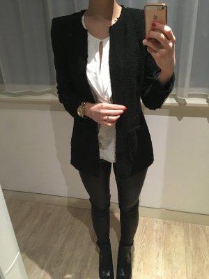 Blazer Tweed ZARA Glitzer Steinchen