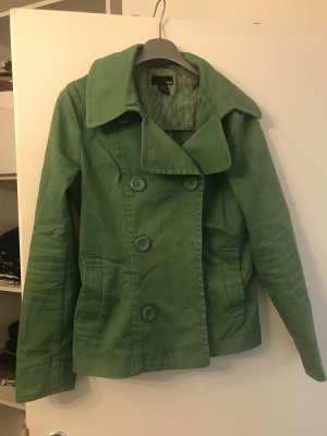 H&M Denim Blazer green