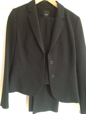 Blazer und Anzughose in schwarz von ESPRIT, Größe 38