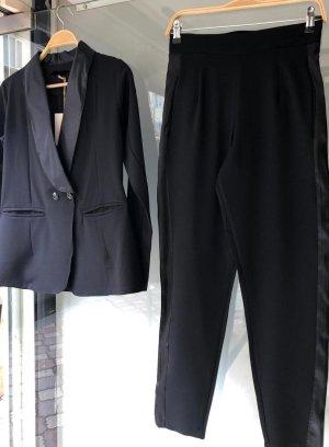 Pantalone da abito nero