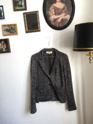 Vanessa Bruno Knitted Blazer grey-black