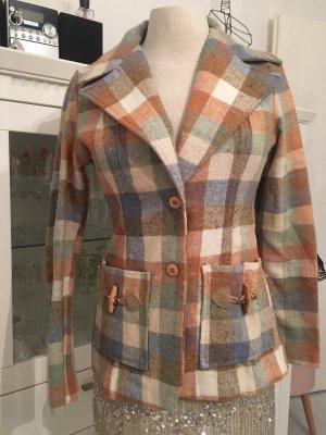Blazer de lana multicolor