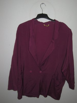Blazer Vintage Retro pink/magenta/lila oversize